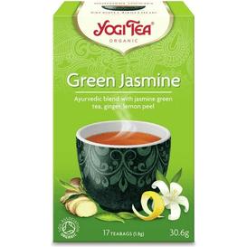 Yogi Tea Herbata zielona jaśminowa - Green jasmine BIO