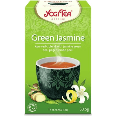 Herbata zielona jaśminowa - Green jasmine BIO Yogi Tea