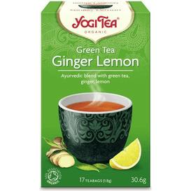Yogi Tea Herbata zielona imbirowo-cytrynowa - Ginger lemon BIO