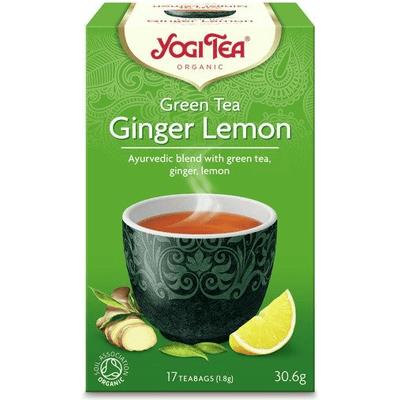 Herbata zielona imbirowo-cytrynowa - Ginger lemon BIO Yogi Tea