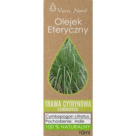 Vera-Nord Olejek eteryczny - Trawa cytrynowa (lemongrass), 10 ml