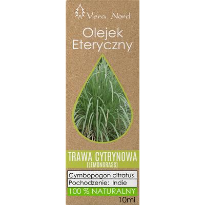 Olejek eteryczny - Trawa cytrynowa (lemongrass) Vera-Nord