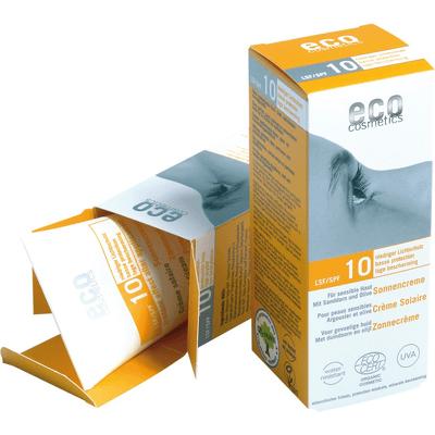 SPF 10 krem na słońce z rokitnikiem i oliwką Eco Cosmetics