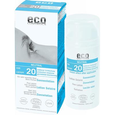 SPF 20 emulsja na słońce bezzapachowa - Neutral Eco Cosmetics