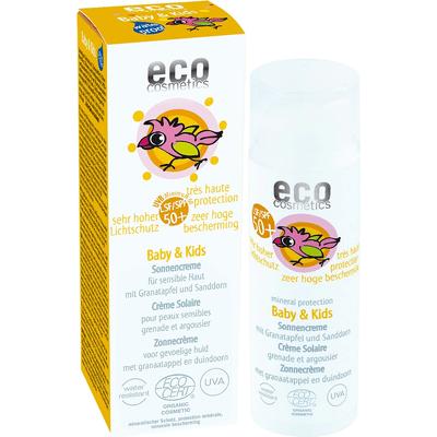 SPF 50+ krem na słońce dla dzieci i niemowląt Eco Cosmetics