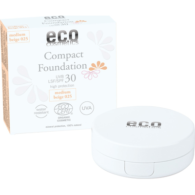 Podkład w kompakcie SPF 30 (data ważności: 31.03.2022) Eco Cosmetics