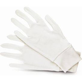 Donegal Bawełniane rękawiczki kosmetyczne ze ściągaczem - 1 para, uniwersalne