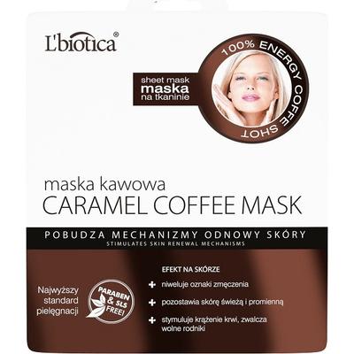 Maska kawowa - pobudzenie mechanizmów odnowy skóry L'biotica