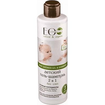 Żel do mycia ciała i włosów dla dzieci 0+ EO Laboratorie