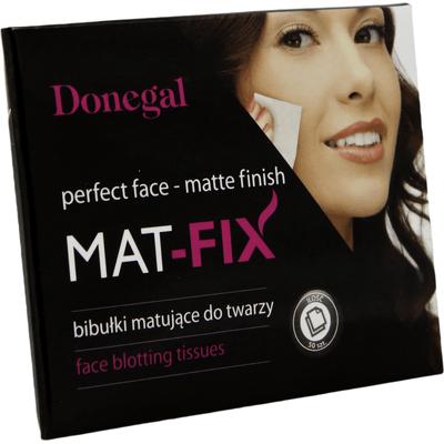 Bibułki matujące do twarzy Mat-fix Donegal