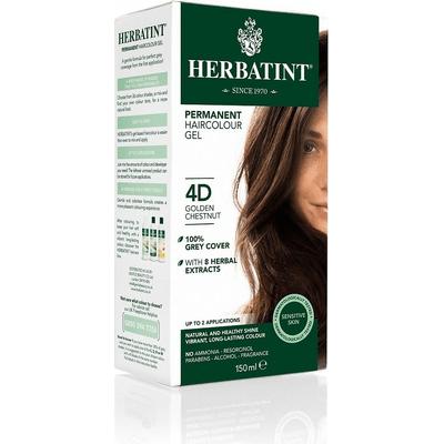 Naturalna trwała farba do włosów - D - Seria złota Herbatint