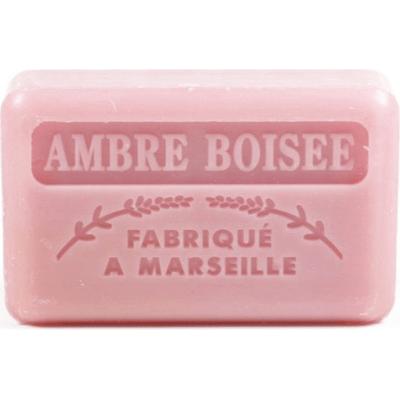Mydło marsylskie z masłem shea - Ambra drzewna Foufour