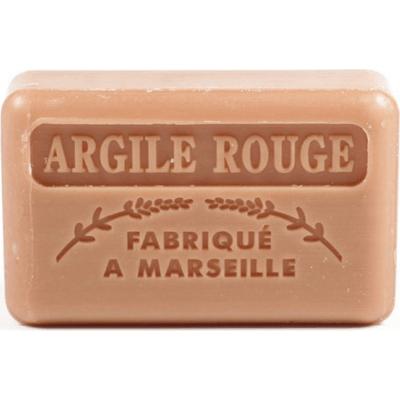 Mydło marsylskie z masłem shea - Glinka czerwona Foufour