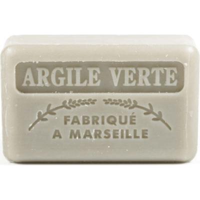 Mydło marsylskie z masłem shea - Glinka zielona Foufour