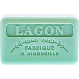 Foufour Mydło marsylskie z masłem shea - Laguna, 125 g