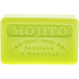 Foufour Mydło marsylskie z masłem shea - Mojito, 125 g