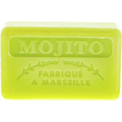 Mydło marsylskie z masłem shea - Mojito Foufour