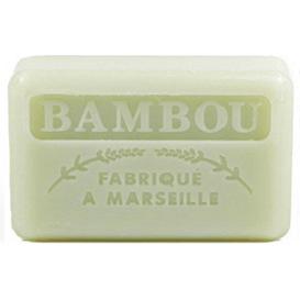 Foufour Mydło marsylskie z masłem shea - Bambus, 125 g