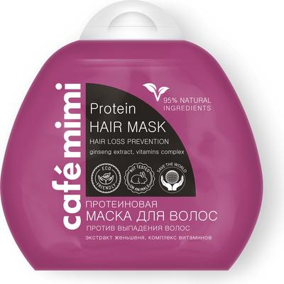 Proteinowa maska do włosów zapobiegająca wypadaniu włosów Cafe Mimi