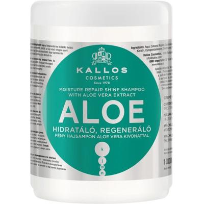 Aloe - Maska do włosów aloesowa regeneracyjno - nawilżająca Kallos
