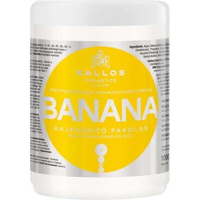 Banana - Maska do włosów bananowa wzmacniająca Kallos