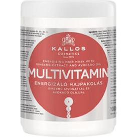 Kallos Multivitamin - Maska do włosów energetyzująca, 1 L