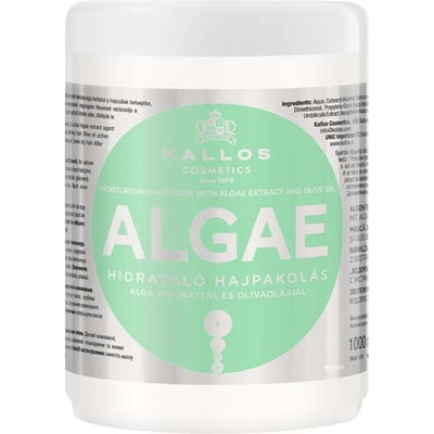Algae - Maska do włosów nawilżająca z algami Kallos