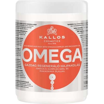 Omega - Maska do włosów regeneracyjna z kompleksem omega -6 i olejem makadamii Kallos