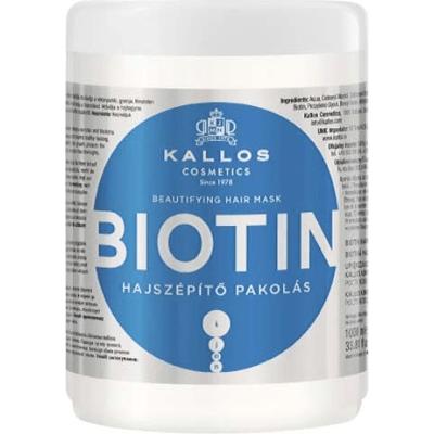 Biotin - Maska do włosów upiększająca Kallos