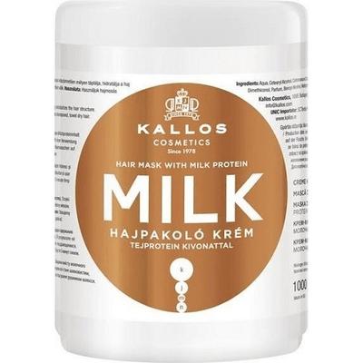 Milk - Maska do włosów odżywcza z proteinami mleka Kallos