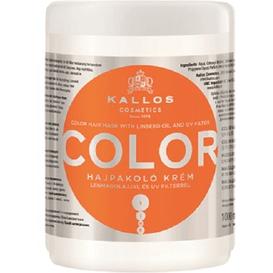 Kallos Color - Maska do włosów farbowanych, 1 L