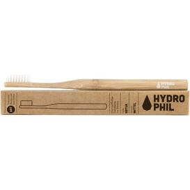 Naturalna bambusowa szczoteczka do zębów - włosie średnie - naturalna