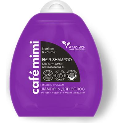 Szampon do włosów - Objętość i odżywienie Cafe Mimi