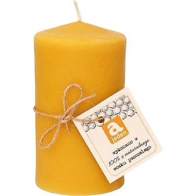 Świeca z wosku pszczelego duża Ajeden
