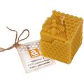 Świeca z wosku pszczelego mała - Pszczółka