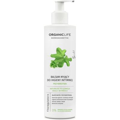 Balsam myjący do higieny intymnej z wyciągiem z przywrotnika Organic Life