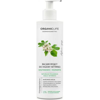 Balsam myjący do higieny intymnej z wyciągiem z kasztanowca i rozmarynu Organic Life