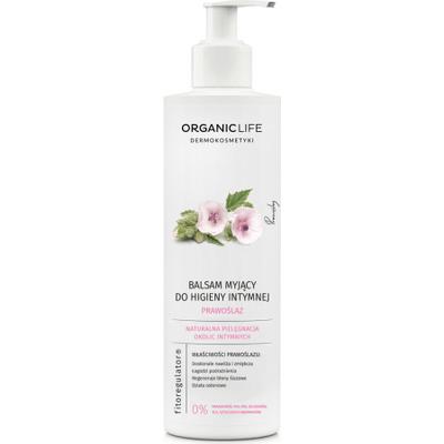 Balsam myjący do higieny intymnej z wyciągiem z prawoślazu lekarskiego Organic Life