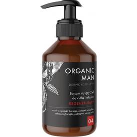 Organic Life Balsam myjący do ciała i włosów 2w1 regenerujący