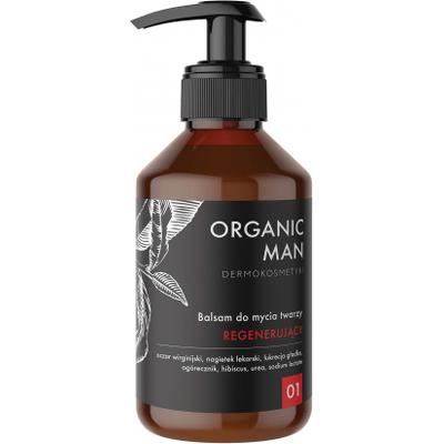 Balsam do mycia twarzy regenerujący Organic Life