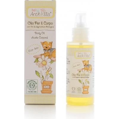 Oliwka dla dzieci z olejem z rolnictwa ekologicznego Pierpaoli Anthyllis