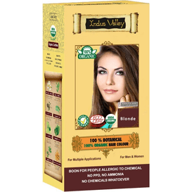 Indus Valley Ziołowa farba do włosów z henną - Blond