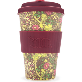 Ecoffee Cup Kubek z włókna bambusowego 400 ml - Seaweed