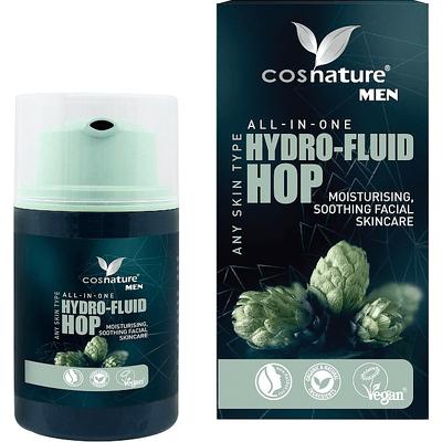 Naturalny nawilżający fluid z wyciągiem z szyszek chmielu Cosnature