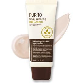 Purito Snail Clearing BB Cream - Krem BB z wyciągiem ze śluzu ślimaka - 21 Light beige