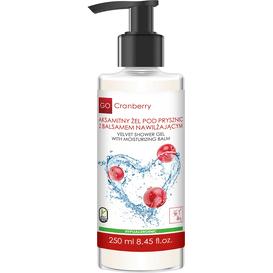 GoCranberry Aksamitny żel pod prysznic z balsamem nawilżającym