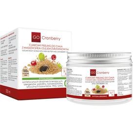 Cukrowy peeling do ciała - masło shea i olej żurawinowy / Nova Kosmetyki