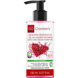 GoCranberry Żel do higieny intymnej z ekstraktem z owoców żurawiny
