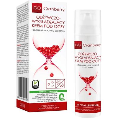 Odżywczo-wygładzający krem pod oczy z żurawiną GoCranberry