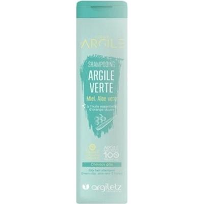 Szampon na bazie zielonej glinki do włosów tłustych Argiletz